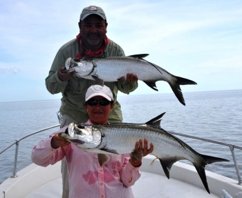 Yucatan Mexico fly fishing guide for Tarpon