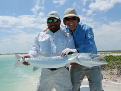 fly fishing guide in ascension Bay mexico