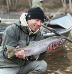 Steelhead fishing photo